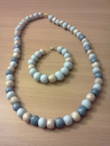 Bead Necklace + Bracelet