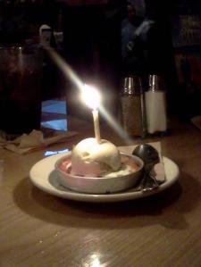 birthday pizookie